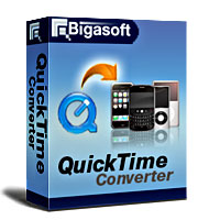 Bigasoft QuickTime Converter Software Box