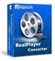 Bigasoft RealPlayer Converter Software Box
