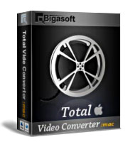 Bigasoft Total Video Converter for Mac Software Box