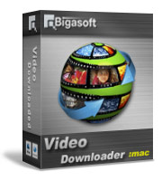 Bigasoft Video Downloader for Mac Software Box