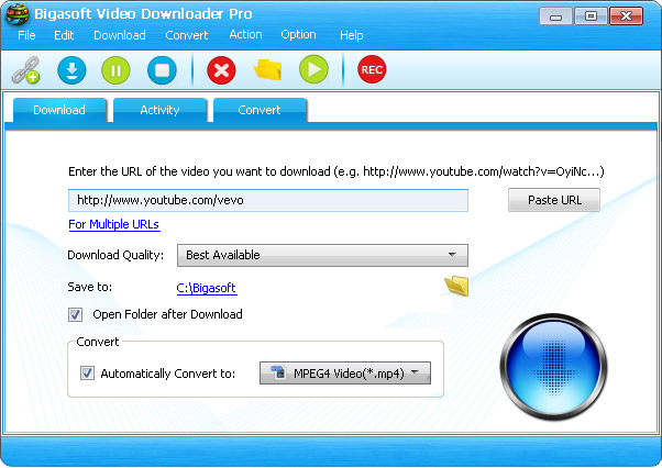 YouTube to Windows Media Player for Windows 8