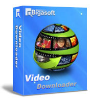 Bigasoft Video Downloader Software Box