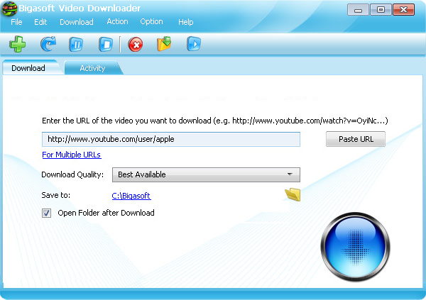 Bigasoft Video Downloader 1.2.28.4878
