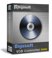 Bigasoft VOB Converter for Mac Software Box