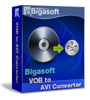 Bigasoft VOB to AVI Converter Software Box