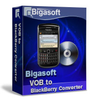 Bigasoft VOB to BlackBerry Converter Software Box