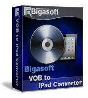 Bigasoft VOB to iPad Converter Software Box