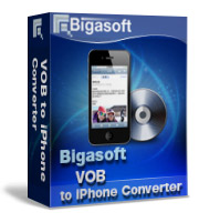 Bigasoft VOB to iPhone Converter Software Box
