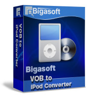 Bigasoft VOB to iPod Converter Software Box
