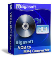 Bigasoft VOB to MP4 Converter Software Box
