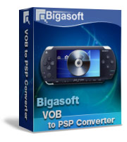 Bigasoft VOB to PSP Converter Software Box