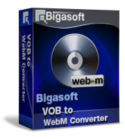 Bigasoft VOB to WebM Converter Software Box
