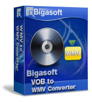 Bigasoft VOB to WMV Converter Software Box