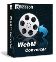 Bigasoft WebM Converter Software Box