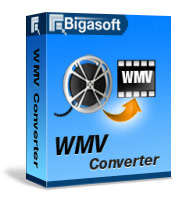 Bigasoft WMV Converter Software Box