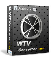 Bigasoft WTV Converter for Mac Software Box