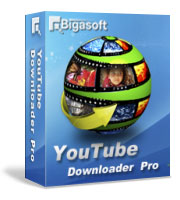 Bigasoft YouTube Downloader Pro Software Box