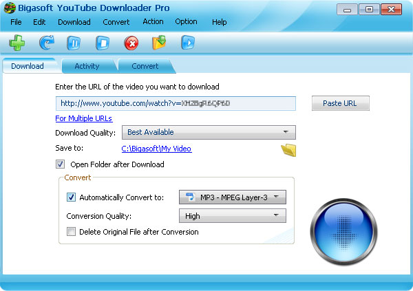 Bigasoft YouTube Downloader Pro v1.2.26.4849 [Multi]