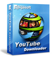 Bigasoft YouTube Downloader Software Box