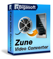 Bigasoft Zune Video Converter Software Box